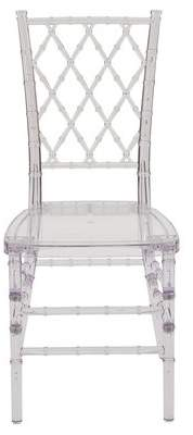 clear Alston Ballroom Stacking Chair Alston
