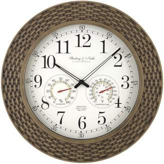 Better Homes & Gardens Woven Indoor/Outdoor Clock