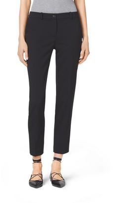 Michael Kors Samantha Stretch Wool Gabardine Pants