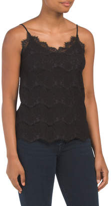Juniors All Over Lace Camisole