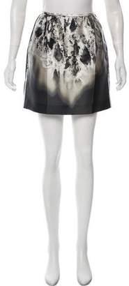 Prada Silk Mini Skirt