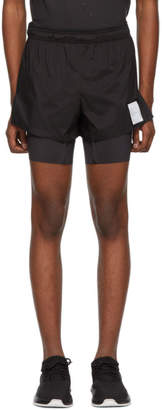 Satisfy Black Short Distance Shorts