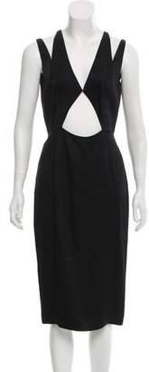Cushnie et Ochs Cutout Midi Dress