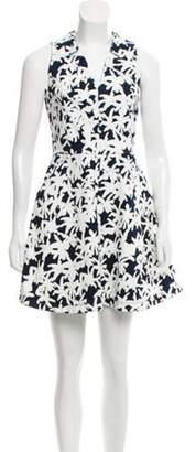 Kenzo Floral A-Line Dress White Floral A-Line Dress