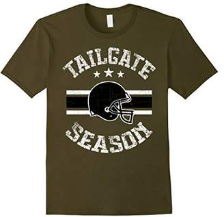 Tailgate Season Football Helmet Vintage Graphic T-Shirt