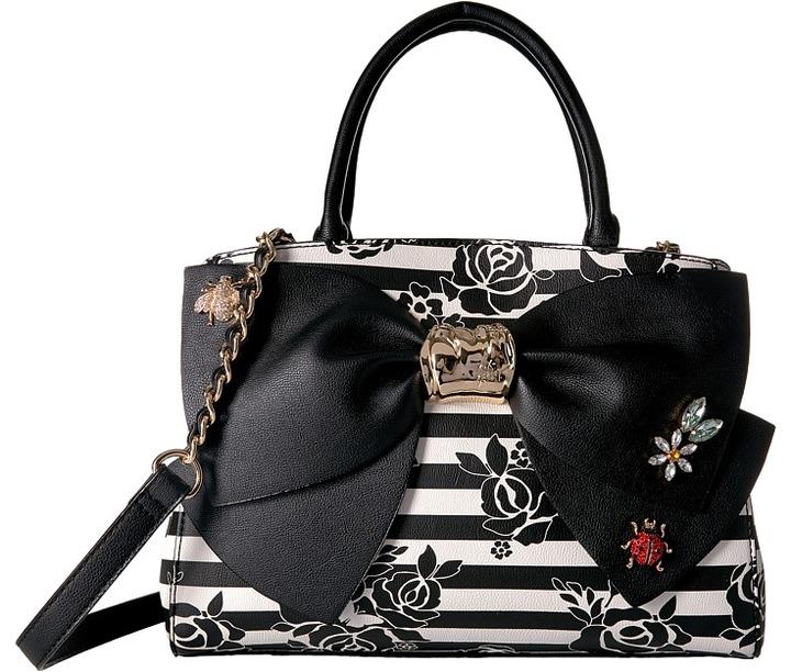 Betsey JohnsonBetsey Johnson - Glam Garden Bow Satchel Satchel Handbags