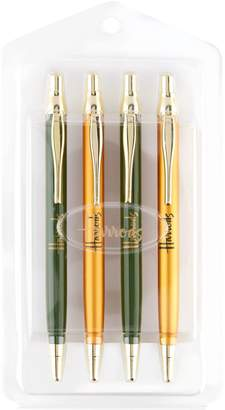 Harrods Logo Ballpoint Pens (Set of 4)