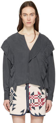 Etoile Isabel Marant Black New Wally Blouse