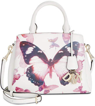 DKNY Paige Small Leather Butterfly Satchel