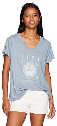 LIRA Women's Madella Soft V-Neck T-Shirt