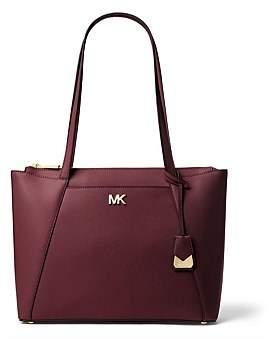 Michael Kors Maddie Medium Crossgrain Leather Tote