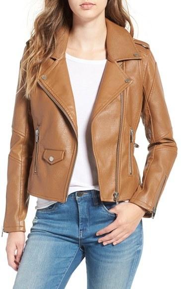 Blank NYCWomen's Blanknyc 'Easy Rider' Faux Leather Moto Jacket