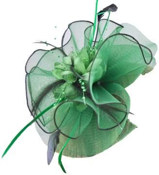 Church's Sheliky Fascinator Headband Wedding Headwear Cocktail Party Derby Hat for Women