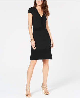 Michael Kors Ottoman-Ribbed Dress