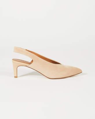 a4f0c2473b Nude Slingback Heels - ShopStyle UK