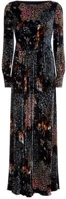 Alberta Ferretti Woodland Velvet Gown