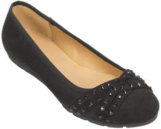 Rialto Ballet Flats with Sparkle Stones - Genevieve