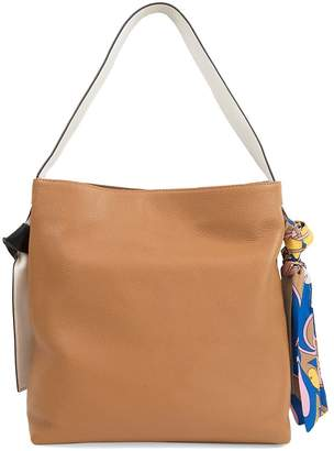 Sam Edelman Women's Cleo Scarf Leather Hobo Bag