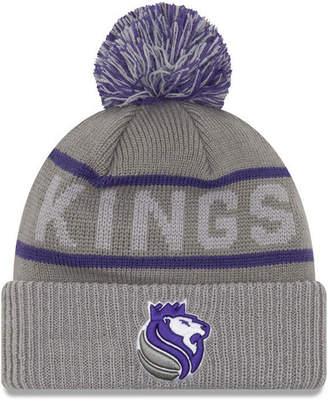 New Era Sacramento Kings Court Force Pom Knit Hat