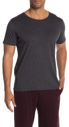 Daniel Buchler Heathered Knit Crew Neck Tee