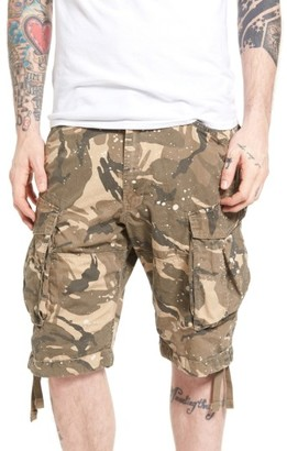 Men's G-Star Raw Rovic Loose Camo Cargo Shorts $130 thestylecure.com