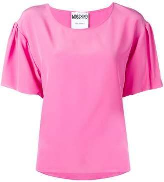 Moschino draped sleeve T-shirt