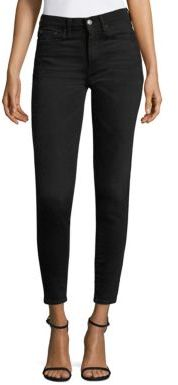 Polo Ralph Lauren High-Rise Skinny Jeans $165 thestylecure.com