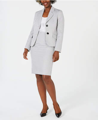 Le Suit Printed Skirt Suit