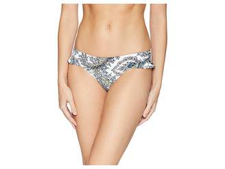 Ella Moss Breezy Boho Ruffle Leg Retro Pants Women's Swimwear
