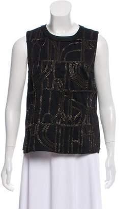 Maiyet Embellished Sleeveless Top