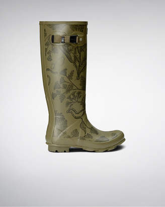 Hunter Women's Norris Field Printed Rain Boots