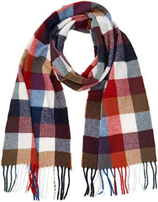 Gant Men s Multicheck Lambswool Scarf (Bright ... 9f8d50c798e52