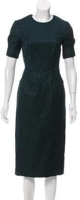 Jason Wu Jacquard Sheath Dress