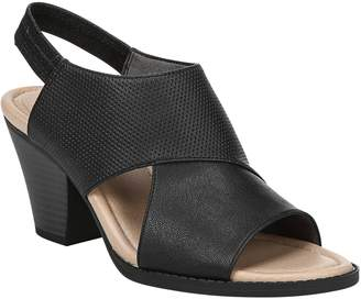 Dr. Scholl's Open-Toe Block-Heel Sandals - Lemon