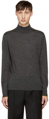 Paul Smith Grey Wool Turtleneck
