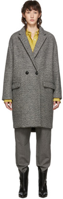Isabel Marant Grey Wool Filipo Coat