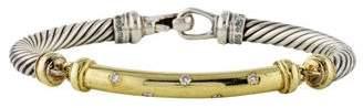 David Yurman Diamond Metro Bracelet