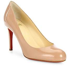 Christian Louboutin Women's Simple Patent Leather Pumps