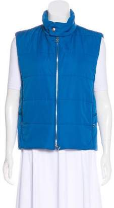 Hermes Padded Zip-Up Vest