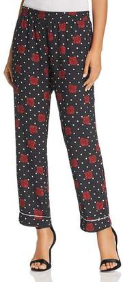 Three Dots Printed Pajama Style Pants
