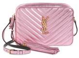 9bf3fc4396e Saint Laurent Pink Metallic Leather Handbags - ShopStyle