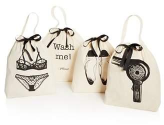 Bag-all Women's Travel Bags, 4 Pack