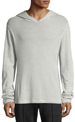 Vince Men's Hooded Thermal Henley