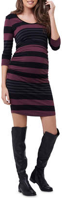 Striped Nursing Tube Dress