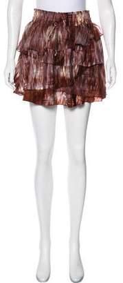 Elizabeth and James Hillary Silk Mini Skirt w/ Tags