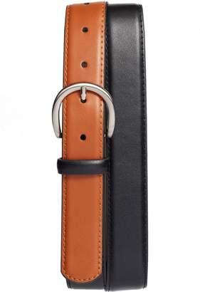 Halogen Colorblock Leather Belt