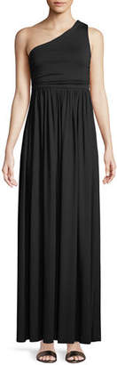 Rachel Pally Kaitlynn One-Shoulder Long Dress, Plus Size