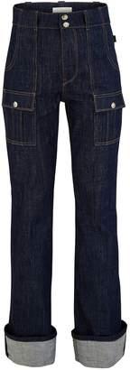 Chloé Turned up jeans