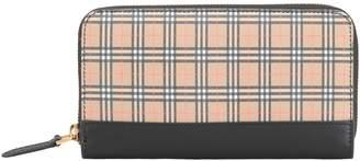 Burberry Zip Around Wallet