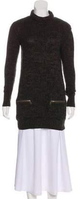 Burberry Heavy Knit Turtleneck Sweater